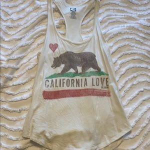 "Billabong ""California Love"" Tank Top sz S"